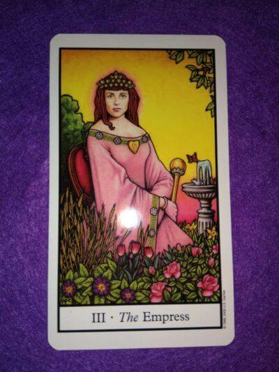 Carta del Tarot-La emperatriz
