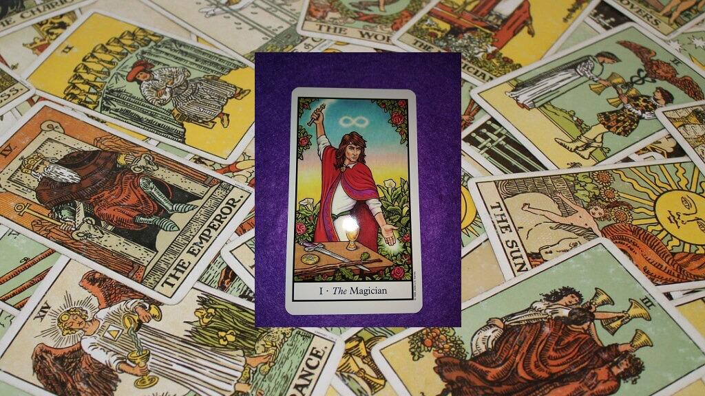 Carta del Tarot-El Mago