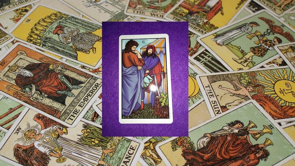 Carta de Tarot-El Dos de Espadas