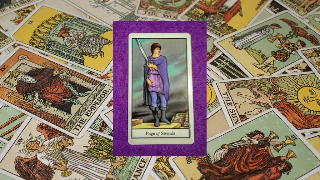 Carta de Tarot-La Sota de Espadas