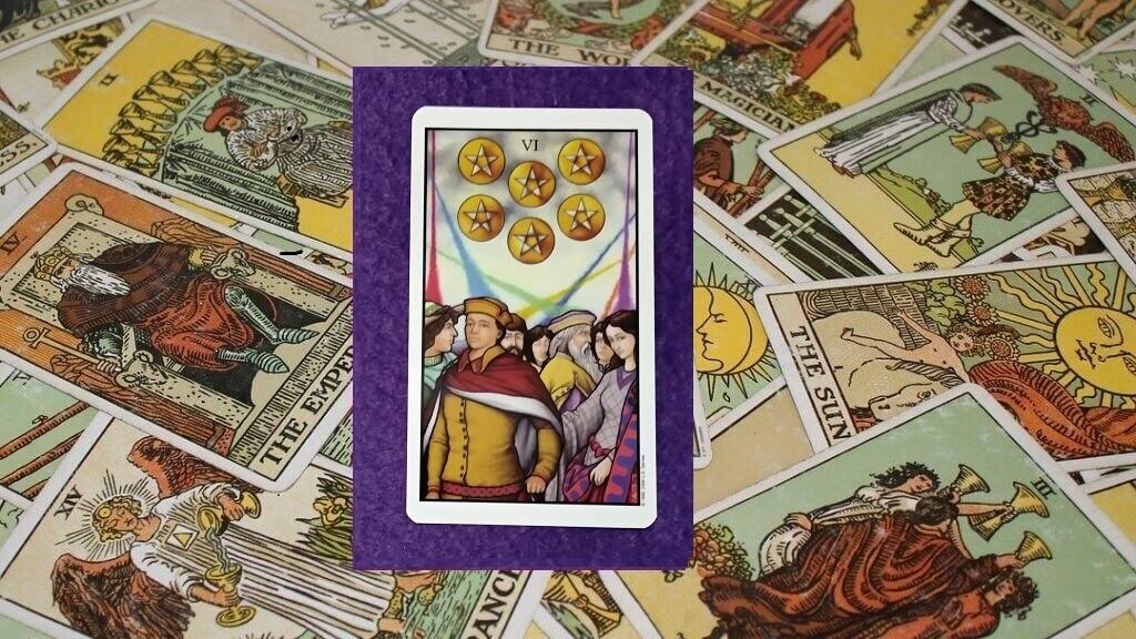 Carta de Tarot-El Seis de Oros