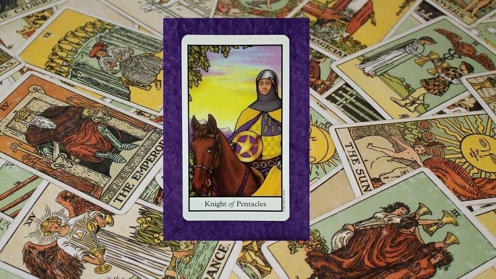Carta de Tarot-El Caballo de Oros