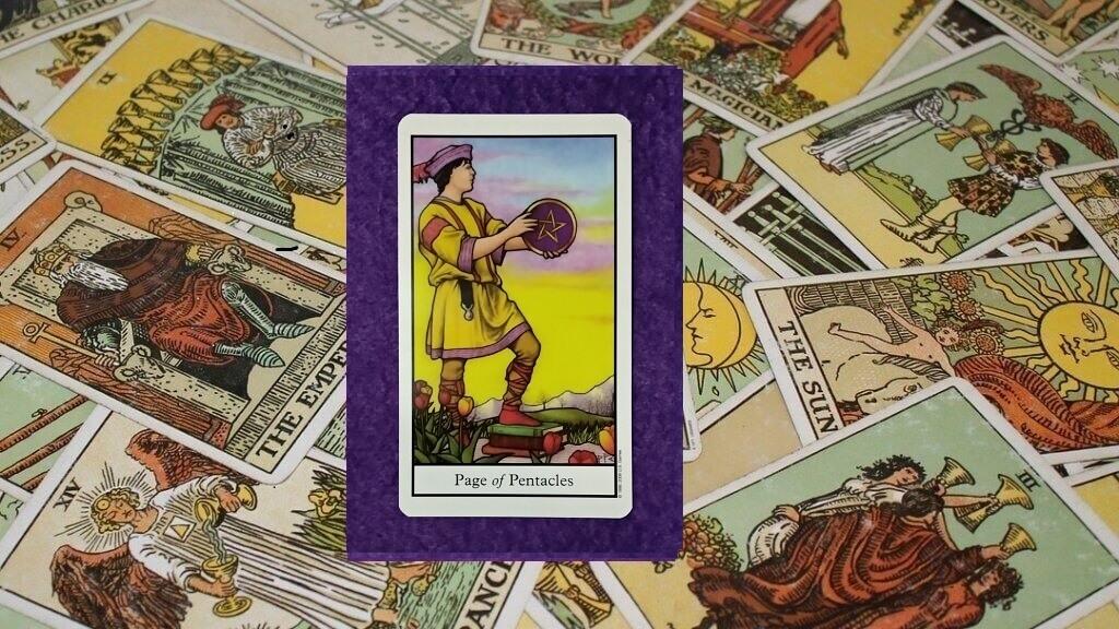 Carta de Tarot-La Sota de Oros