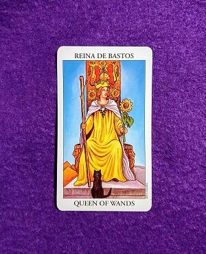 Lectura de TAROT-La Reina de Bastos