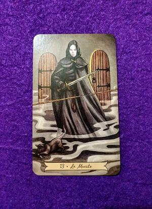 Tirada de Tarot del Amor-La Muerte