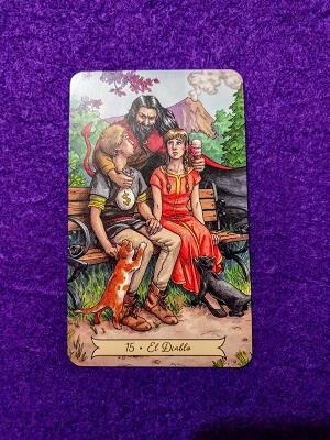 Tirada de Tarot del Amor-El Diablo
